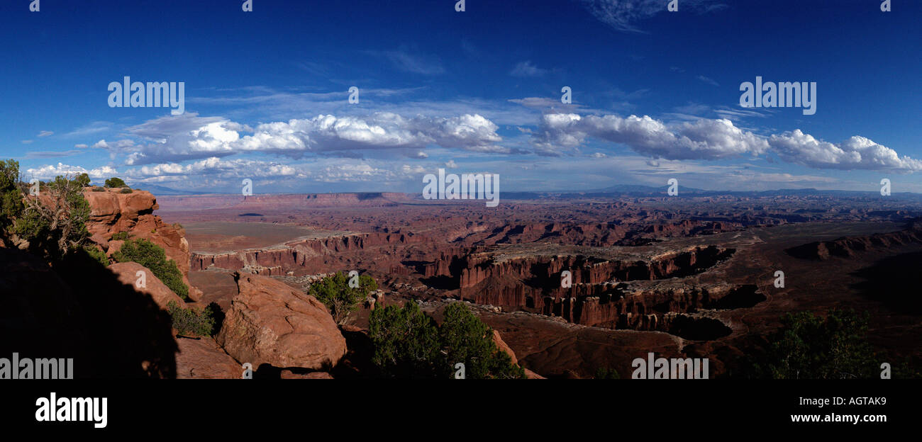 Island in the Sky' / Canyonland national park - Stock Image