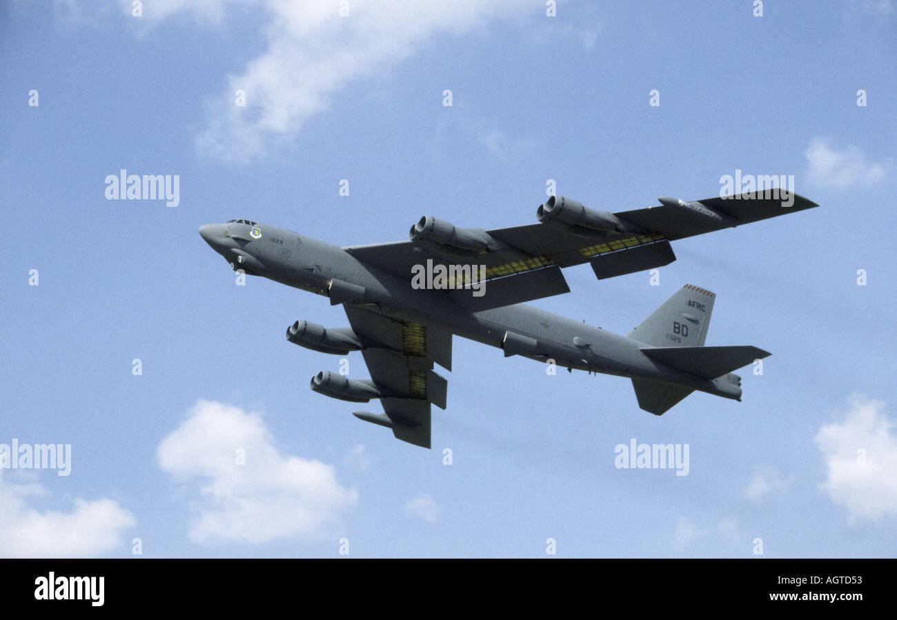 Boeing B52 Stratofortress Stock Photo