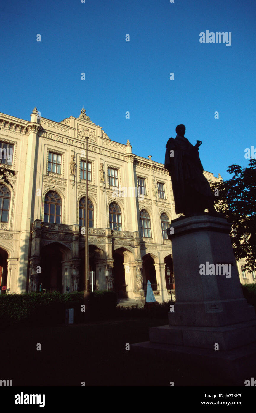 Ethnology museum / Munich - Stock Image