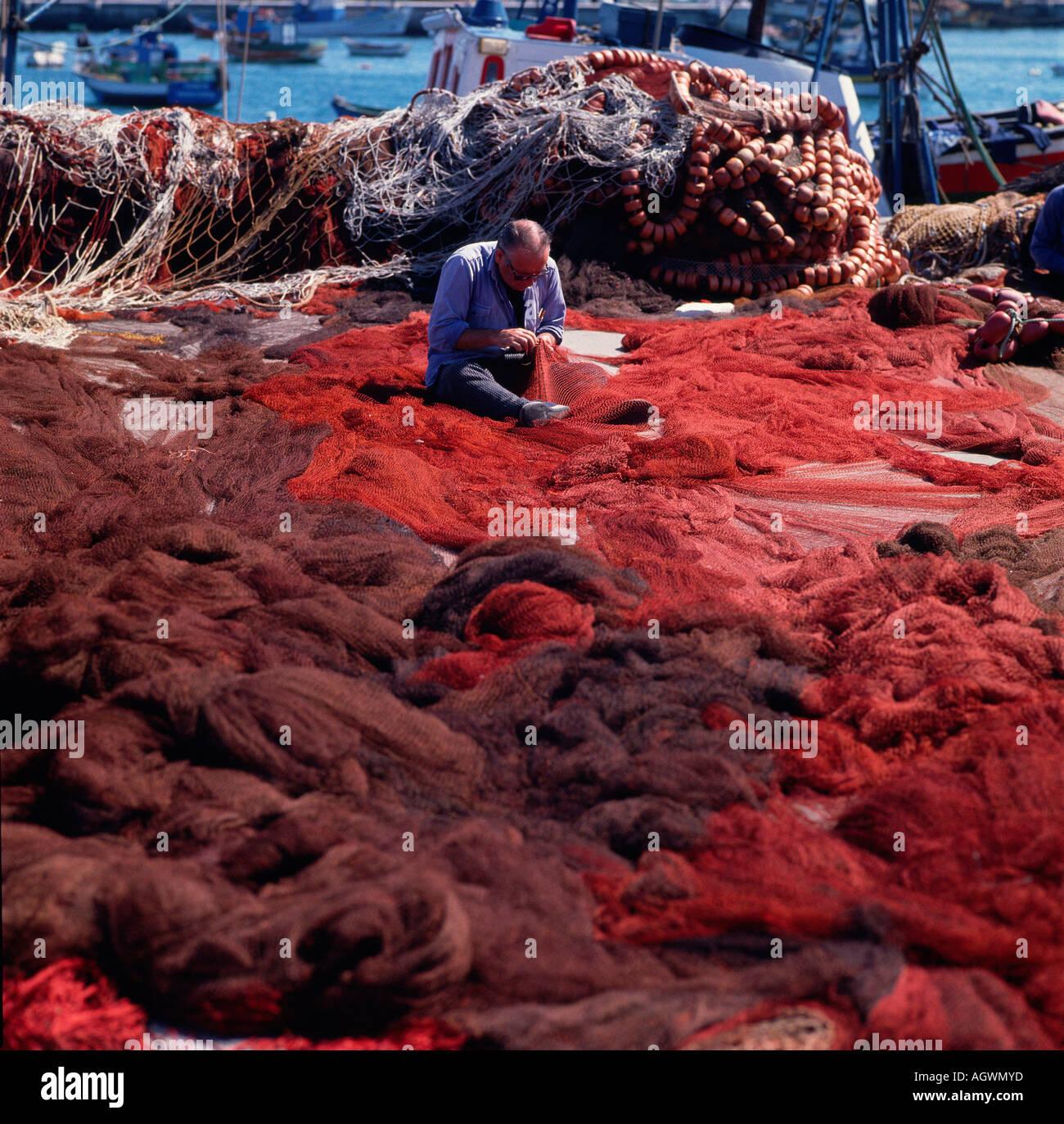 Fisherman / Peniche - Stock Image