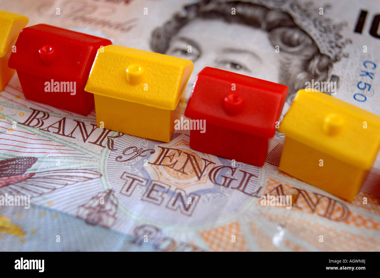 Picture By Jim Wileman 26 09 2007 Generic Bank of England Interest Rate picture - Stock Image