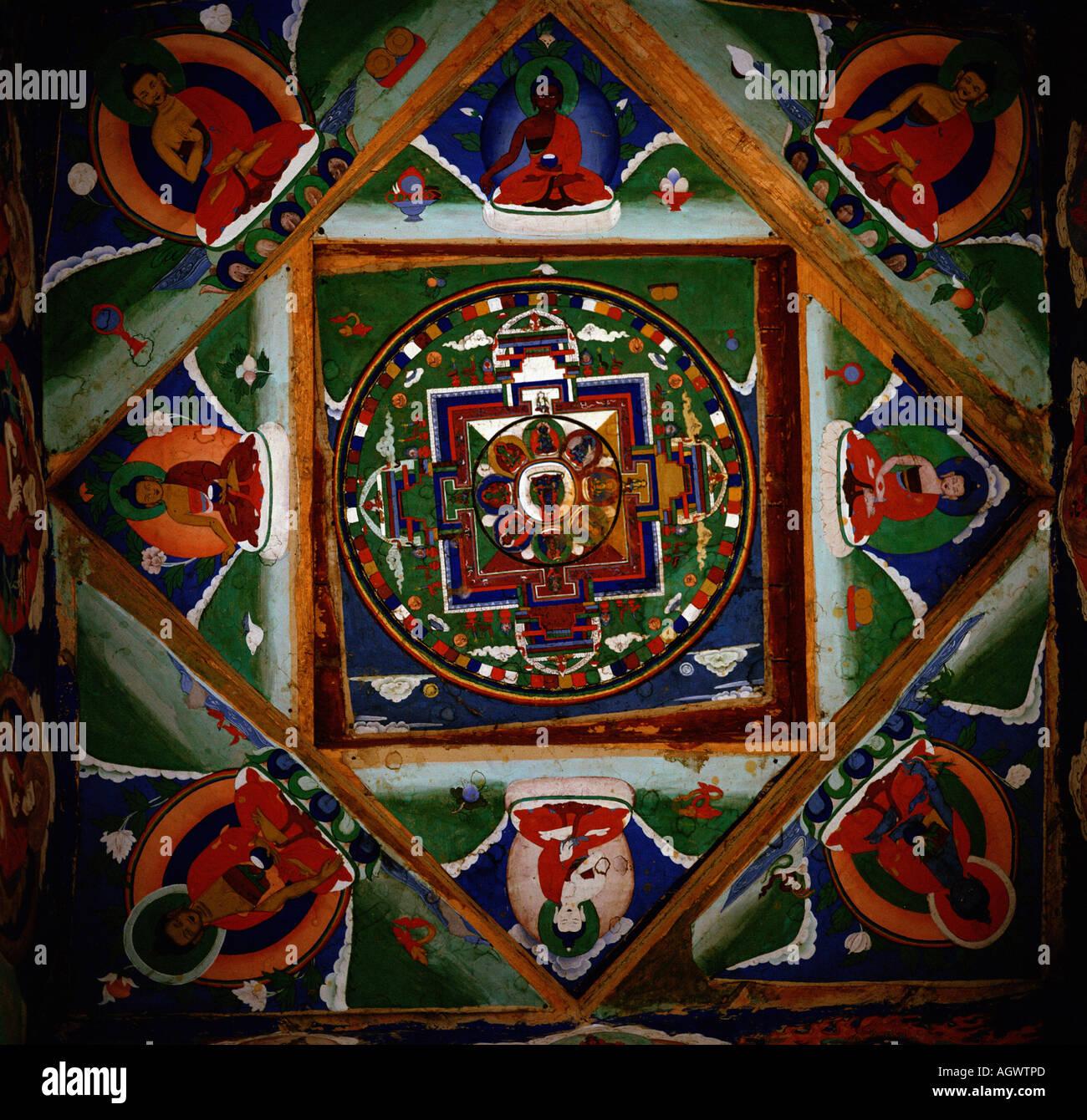 Mandala - Stock Image