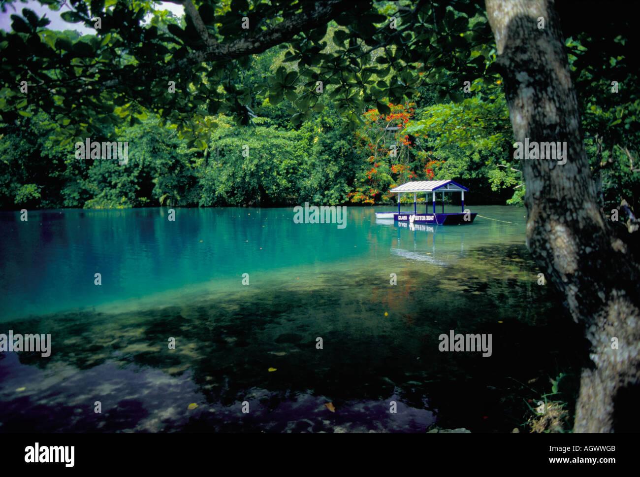 Blue Lagoon Jamaica Stock Photo 8167370 Alamy