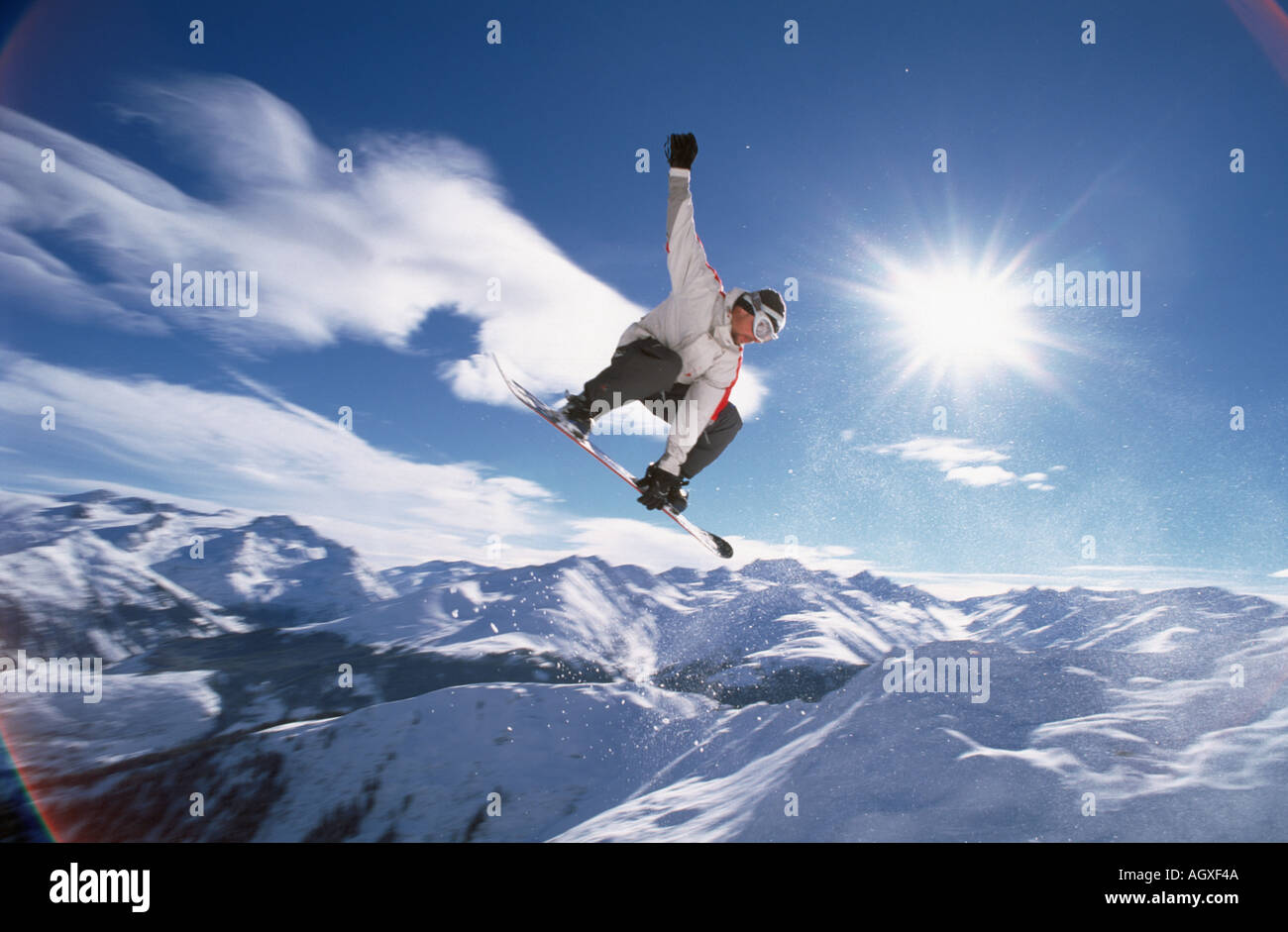 Grab the sun - Stock Image