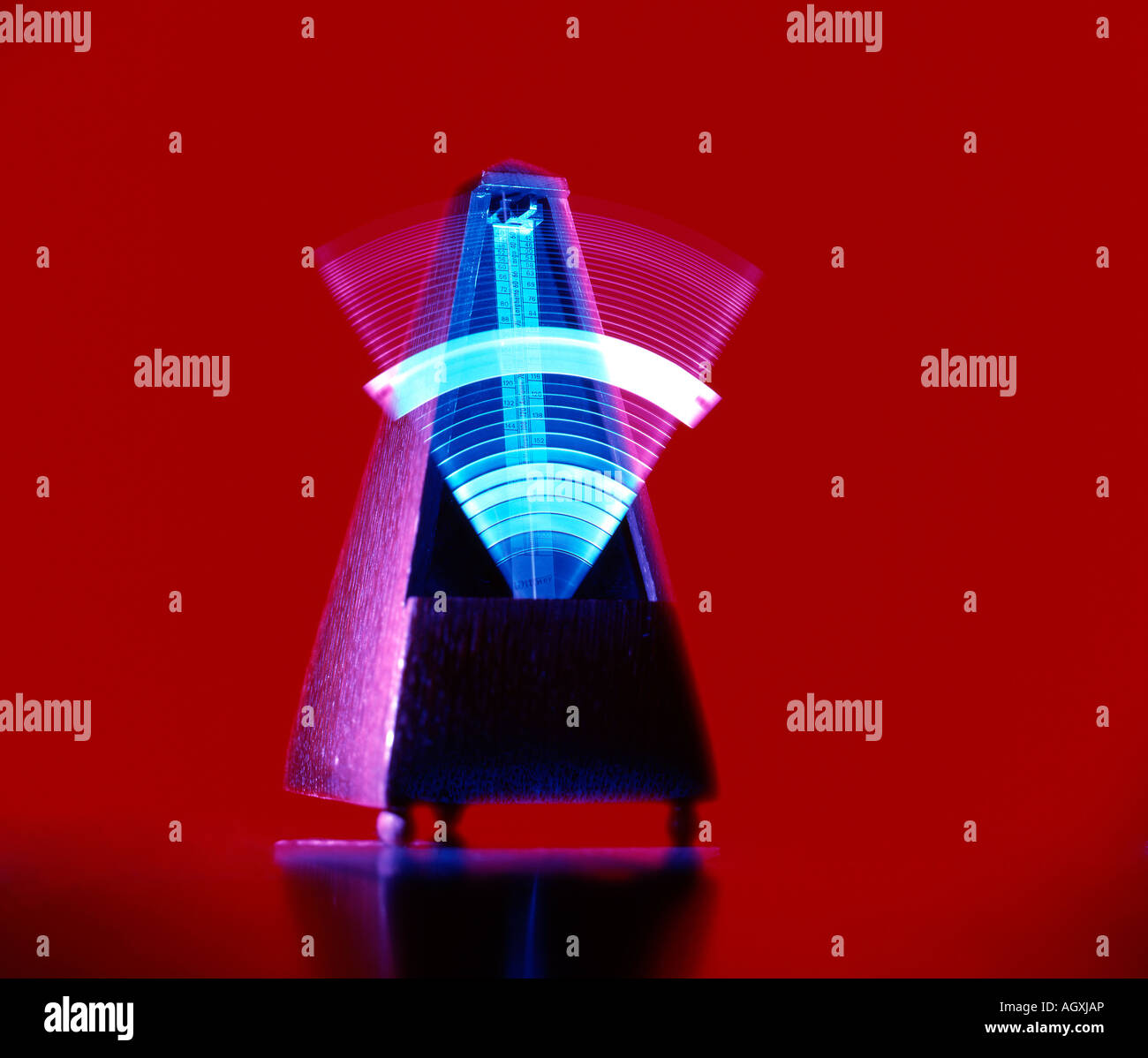 metronome with movement - Stock Image