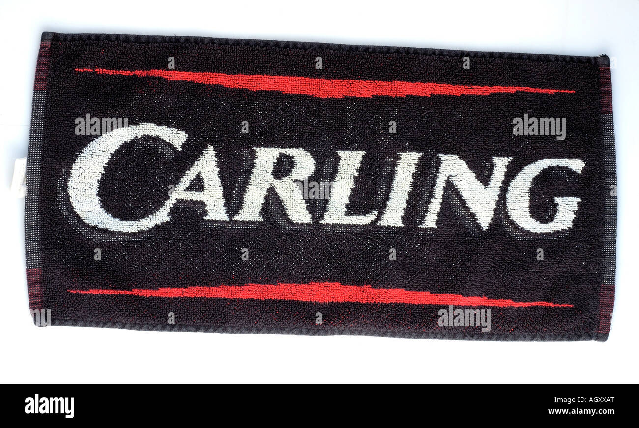 Bar Towel - Stock Image
