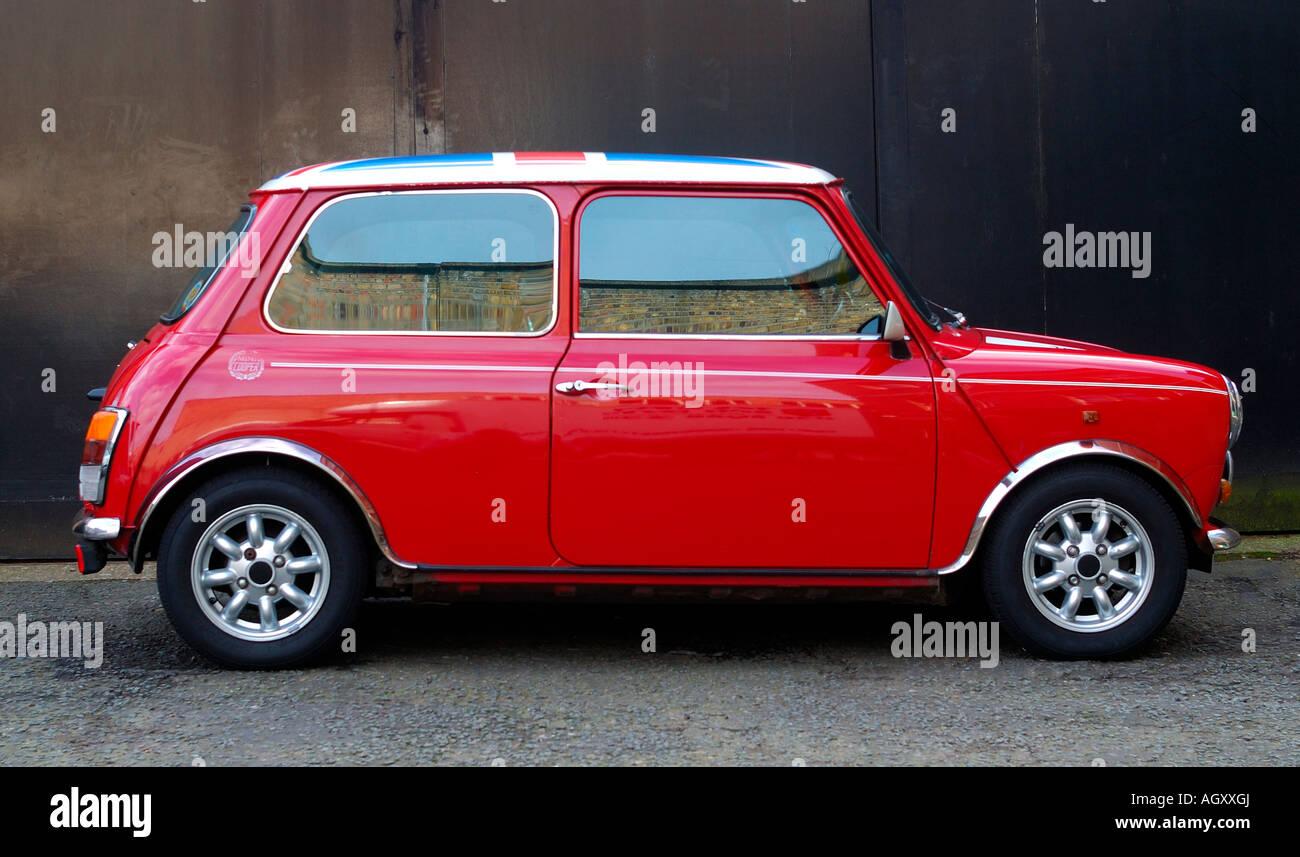 Mini Cooper Car - Stock Image