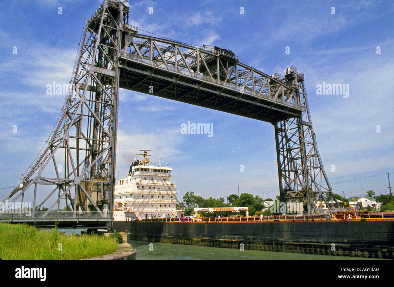 Draw Bridge On The Welland Canal Ontario Canada Stock Photo 2669484