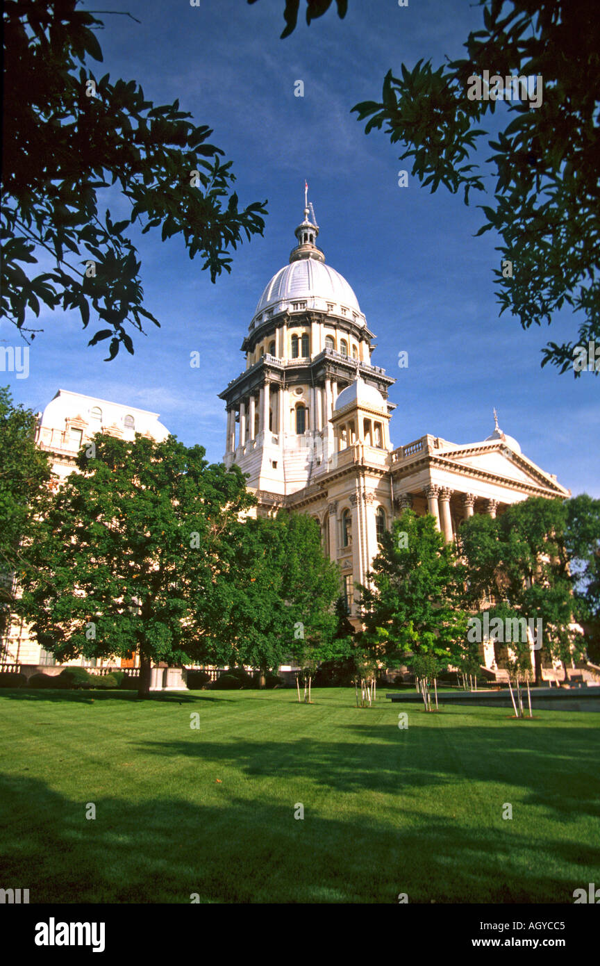 Springfield Illinois State Capitol Building - Stock Image