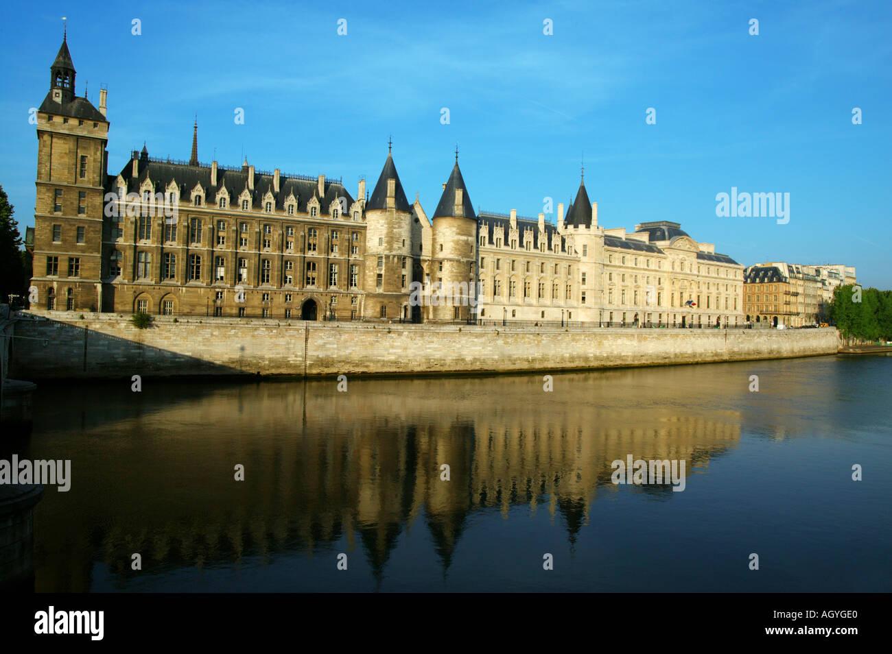 France Paris La Conciergerie - Stock Image
