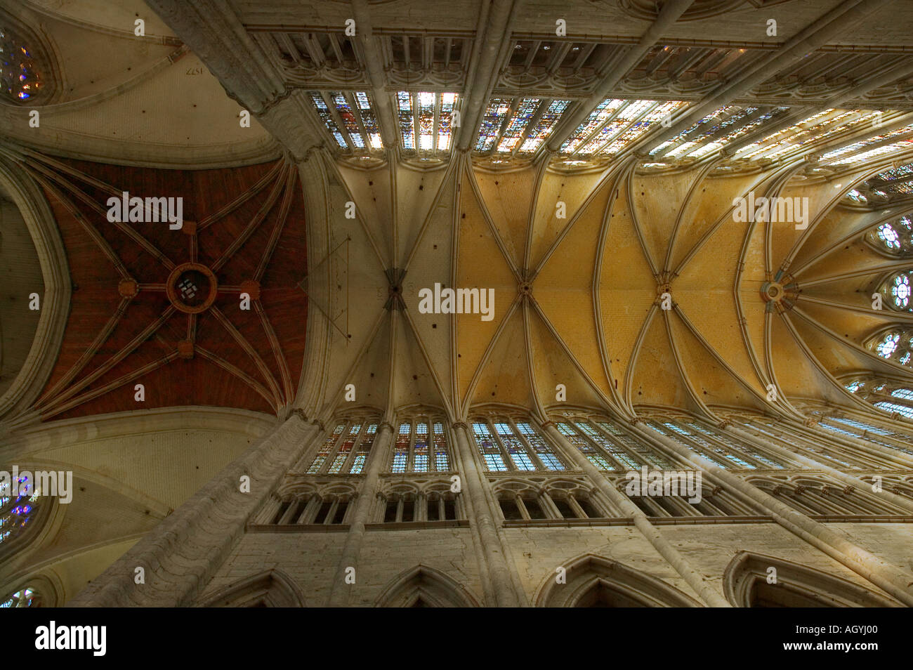 France - Beauvais cathedral in Picardy Stock Photo