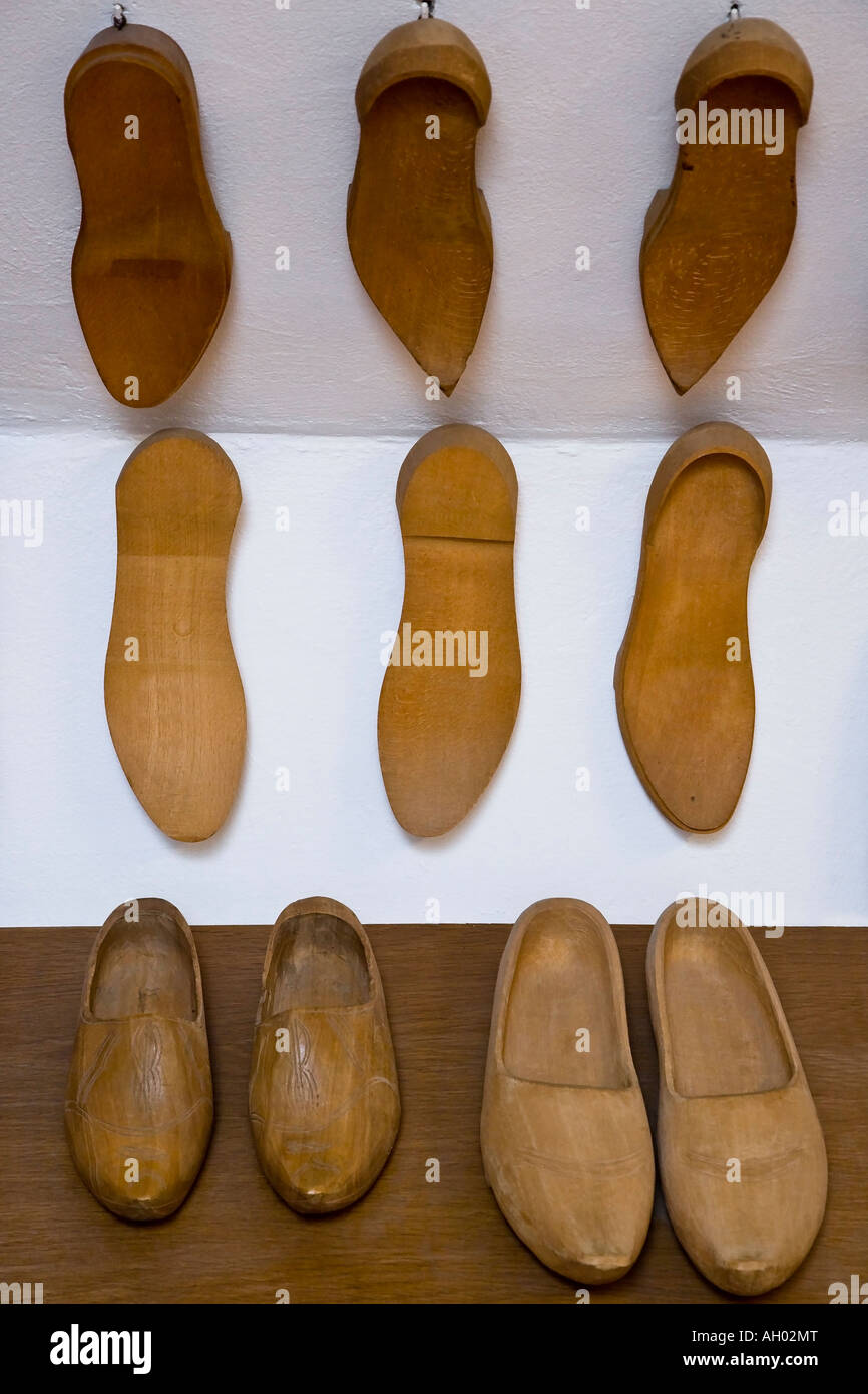 Clog soles - Stock Image