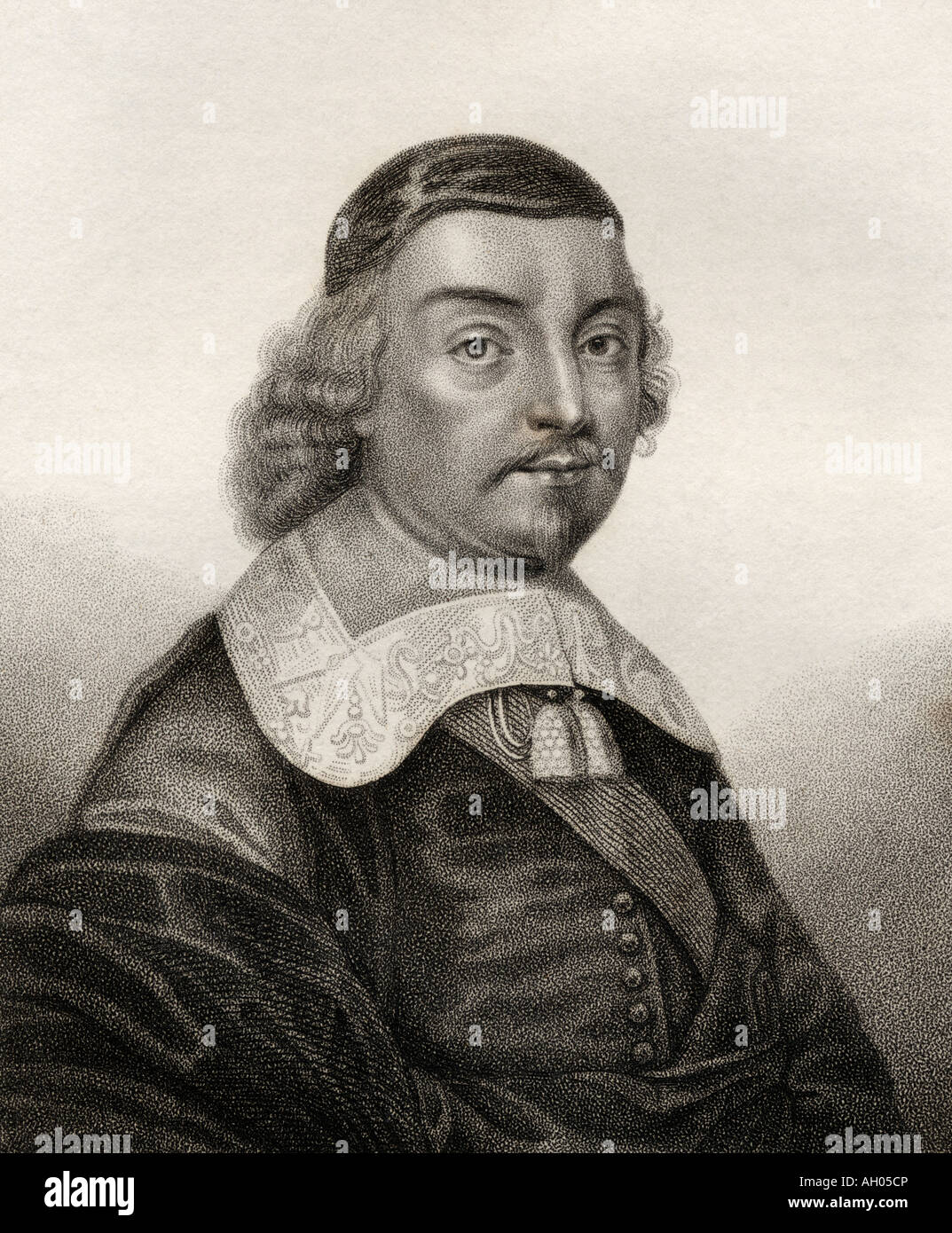 Mildmay Fane, 2nd Earl Westmorland, 9th Lord de Despenser, 1602-1666.  English nobleman, politician and writer. Stock Photo