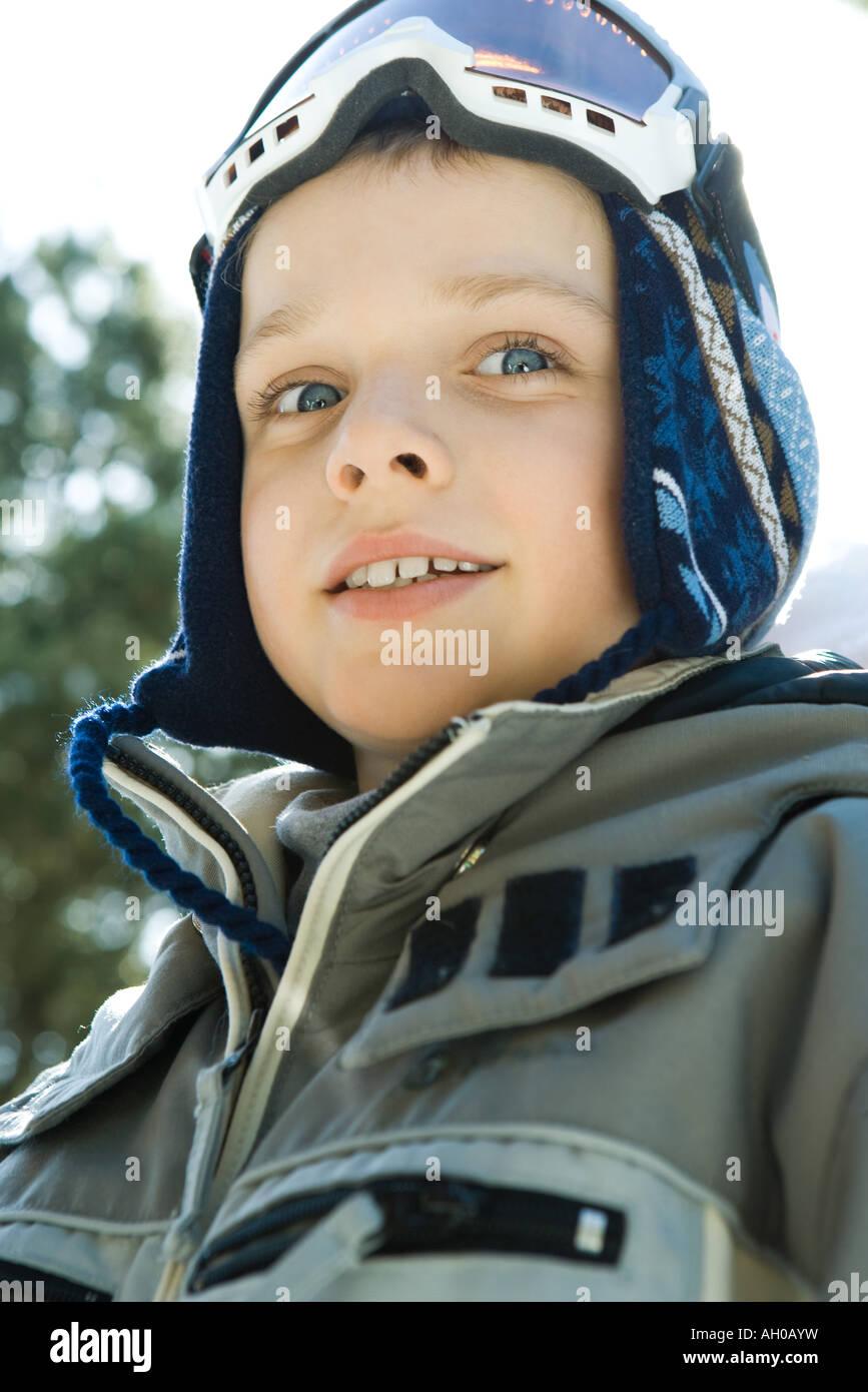 da03afe5c1bc Boy wearing ski gear