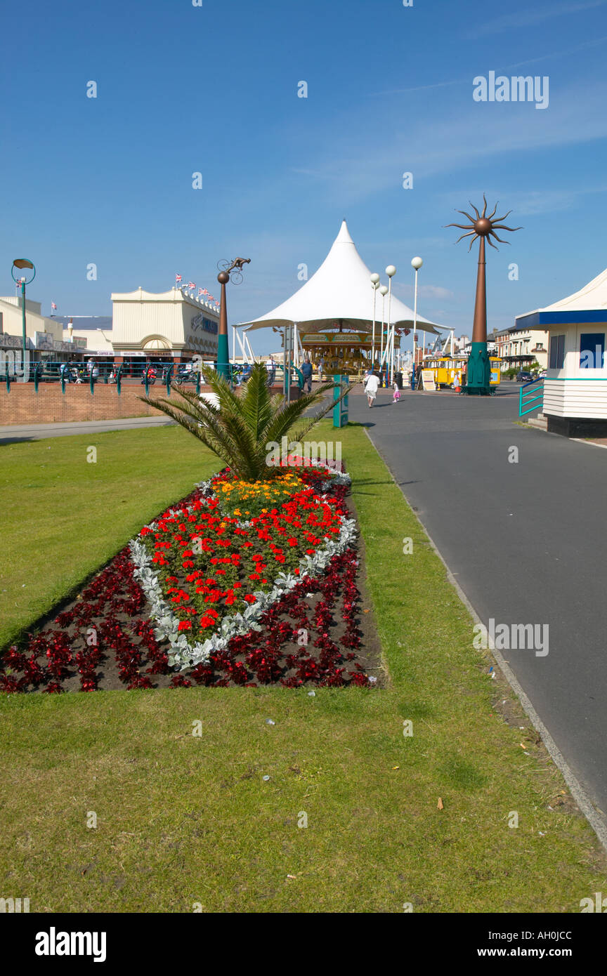 Floral displays Southport Merseyside Stock Photo