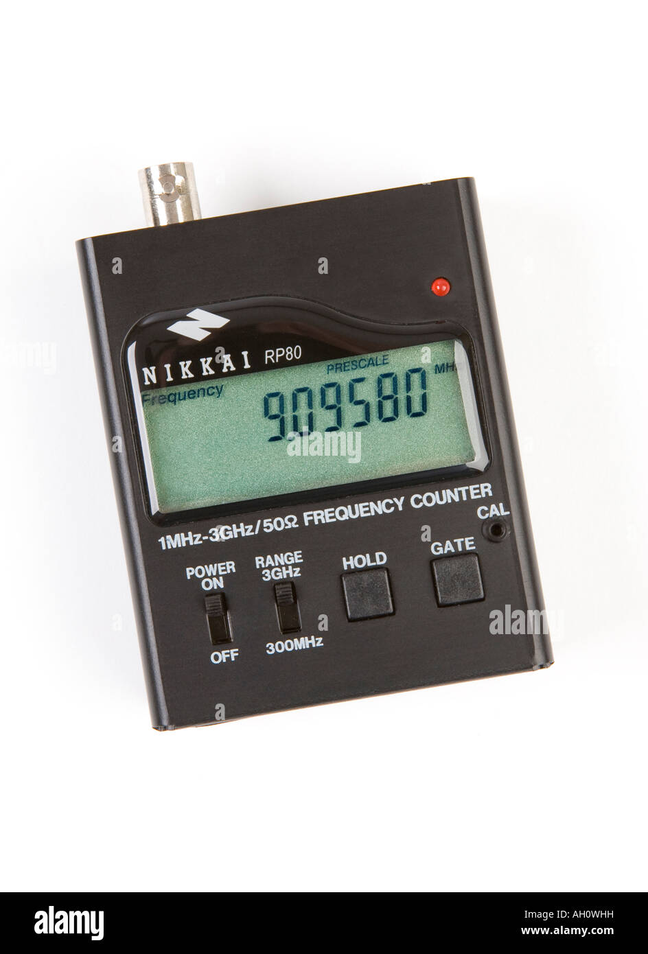 Frequency Meter Stock Photos Images Alamy 1hz To 1mhz With Digital Display Image