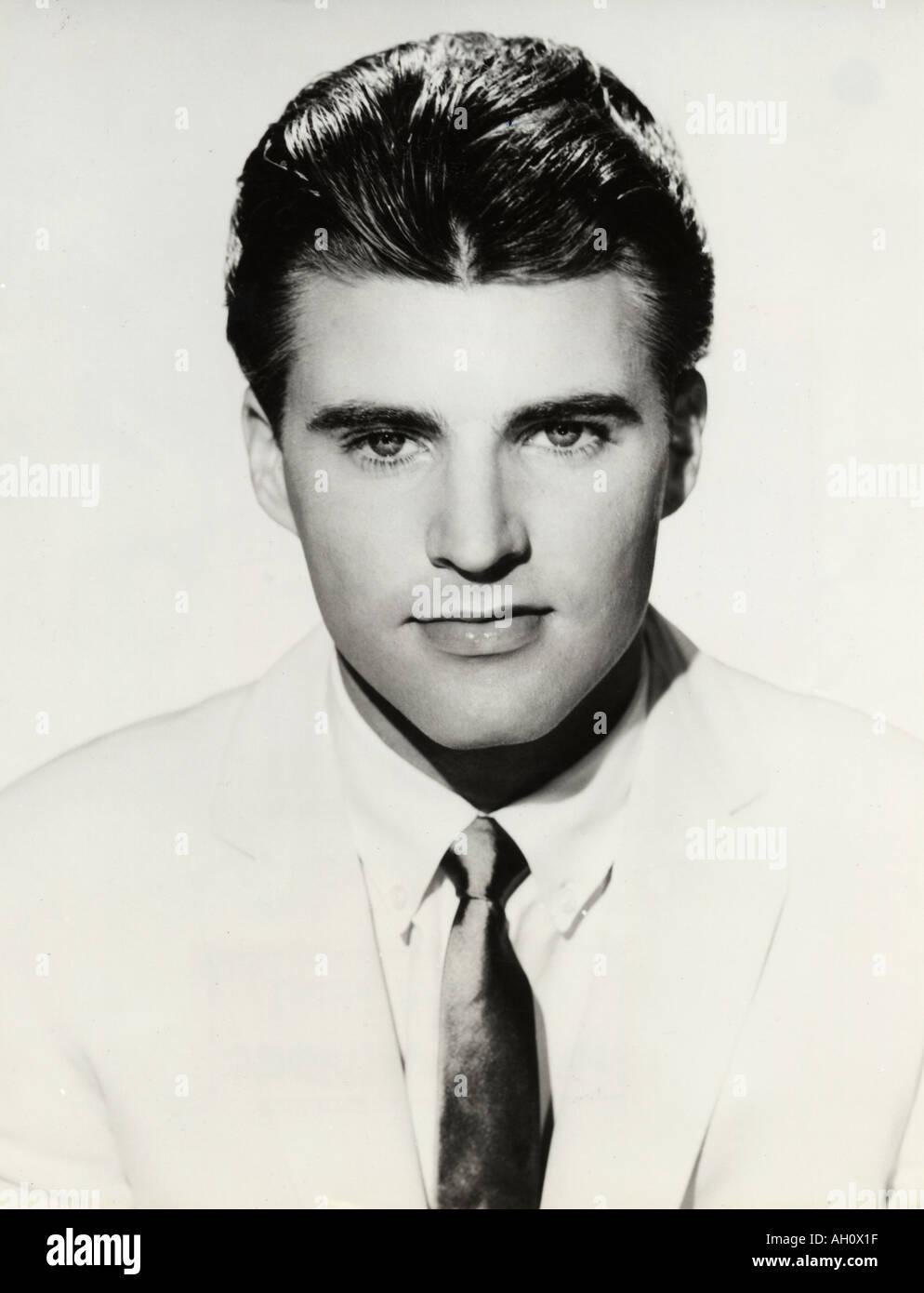 RICKY NELSON US singer popular in 1950s - Stock Image