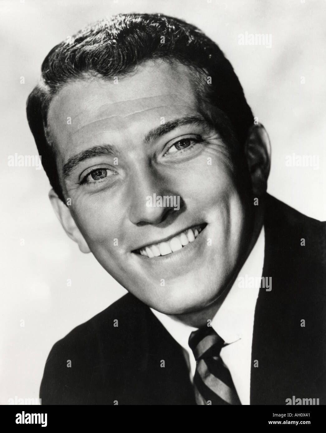 ANDY WILLIAMS American singer - Stock Image