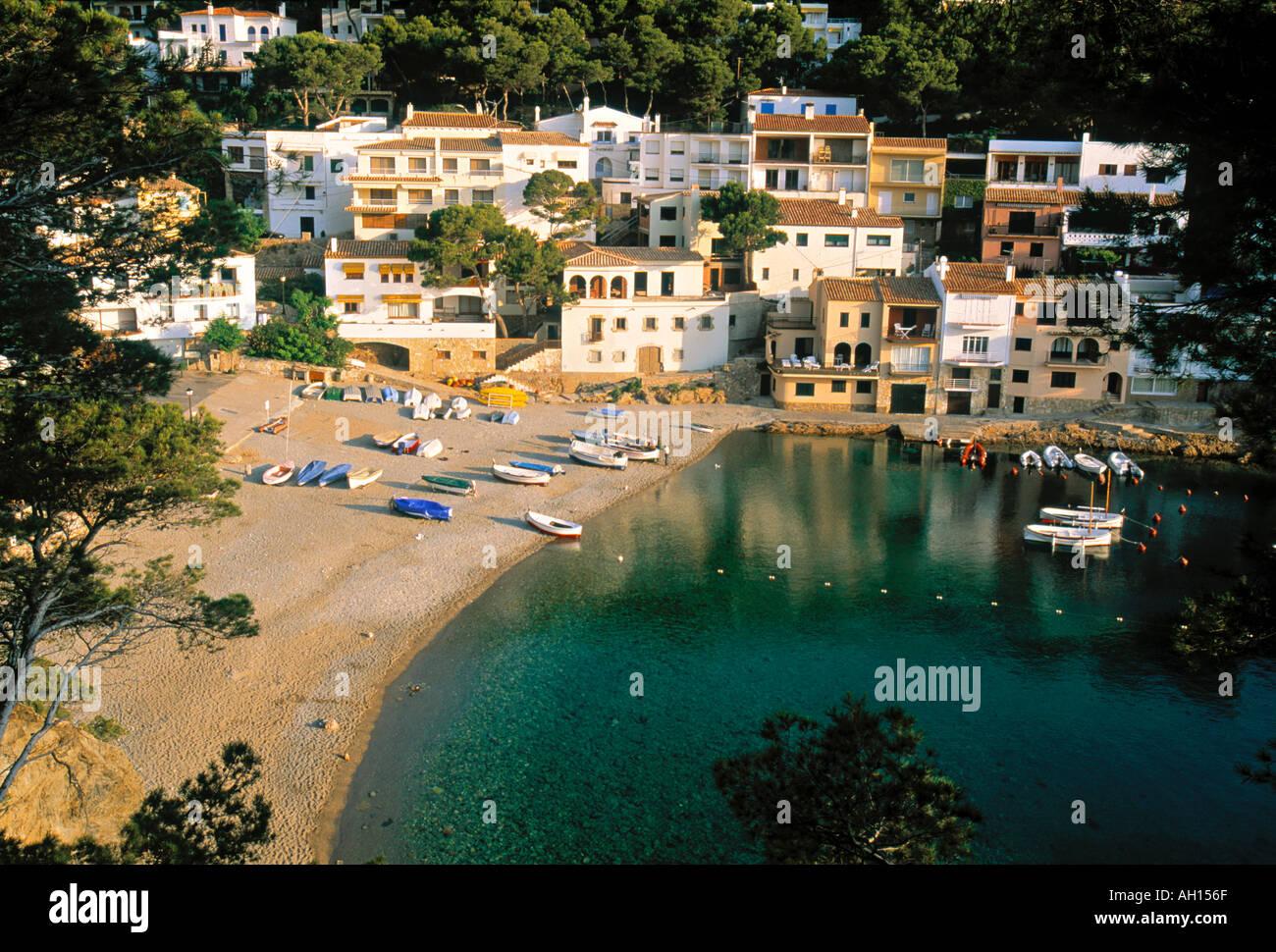 Sa Tuna nr Begur Costa Brava Spain - Stock Image