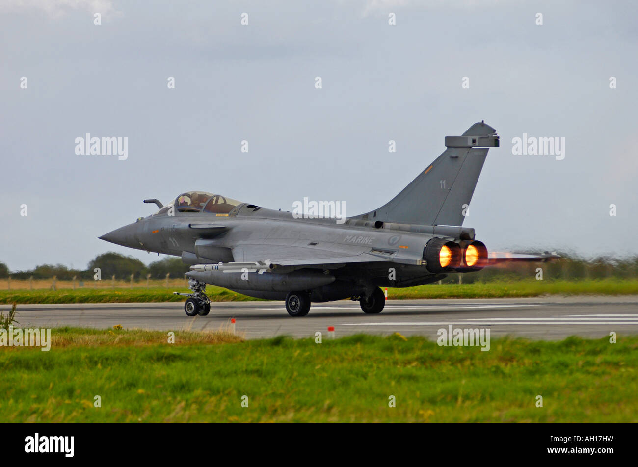 The Dassault Rafale M (or 'Squall' in English) is a French twin-engined delta-wing highly agile multi-role - Stock Image