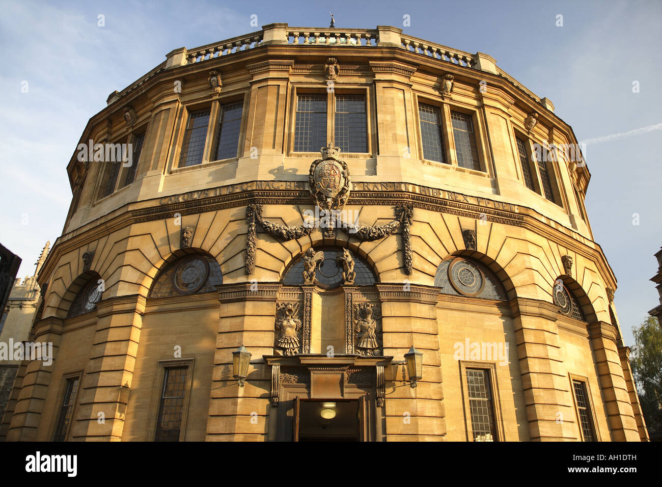 The Sheldonian Theatre, Oxford University, England, UK Stock Photo