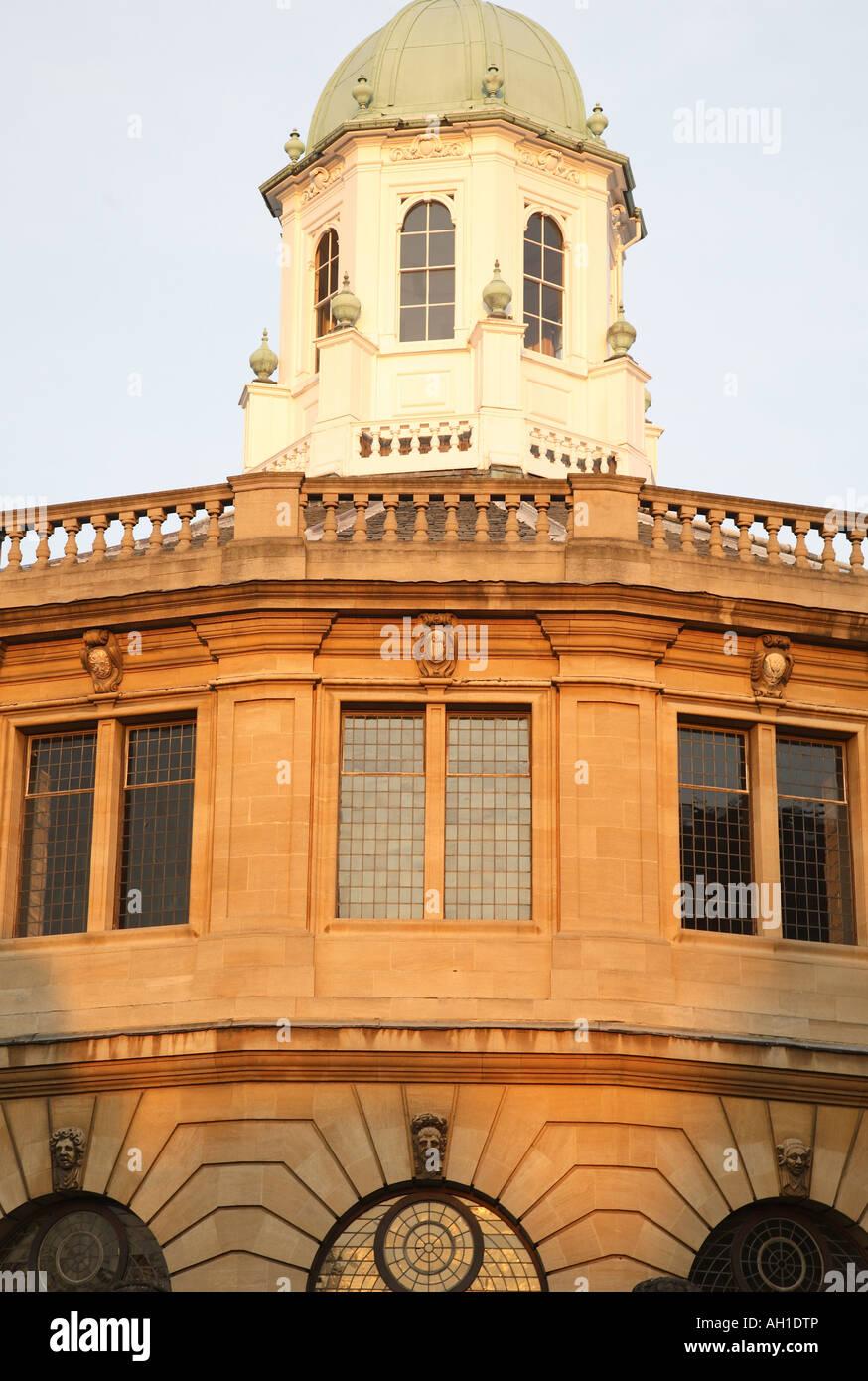 Sheldonian Theatre, Oxford University, England, UK Stock Photo