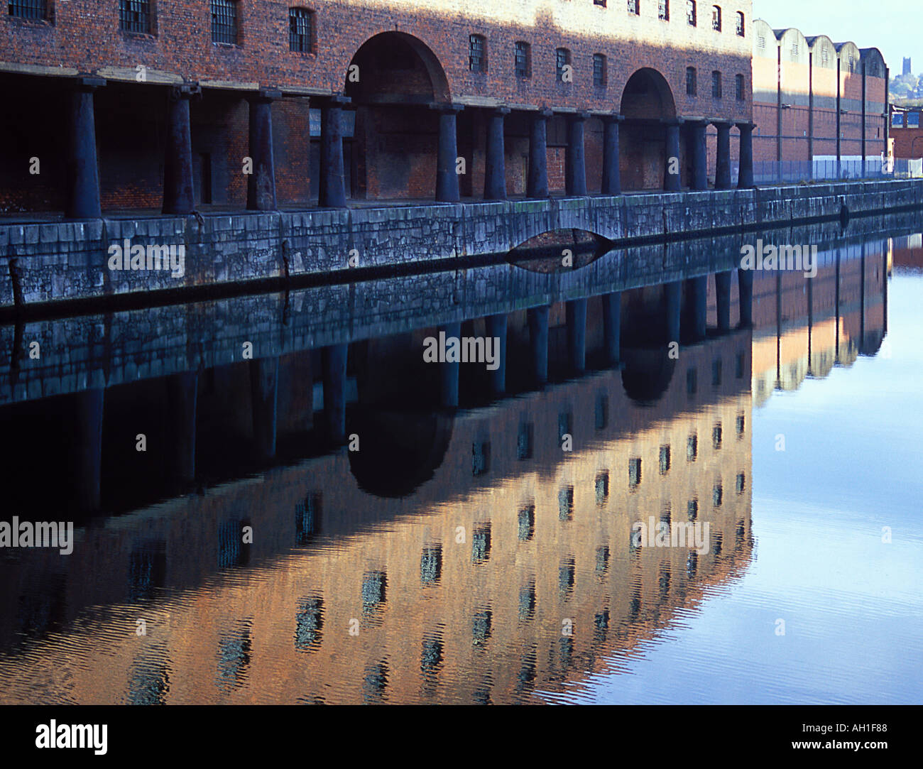 Stanley Dock Warehouse Liverpool 1848 by Jesse Hartley Stock Photo