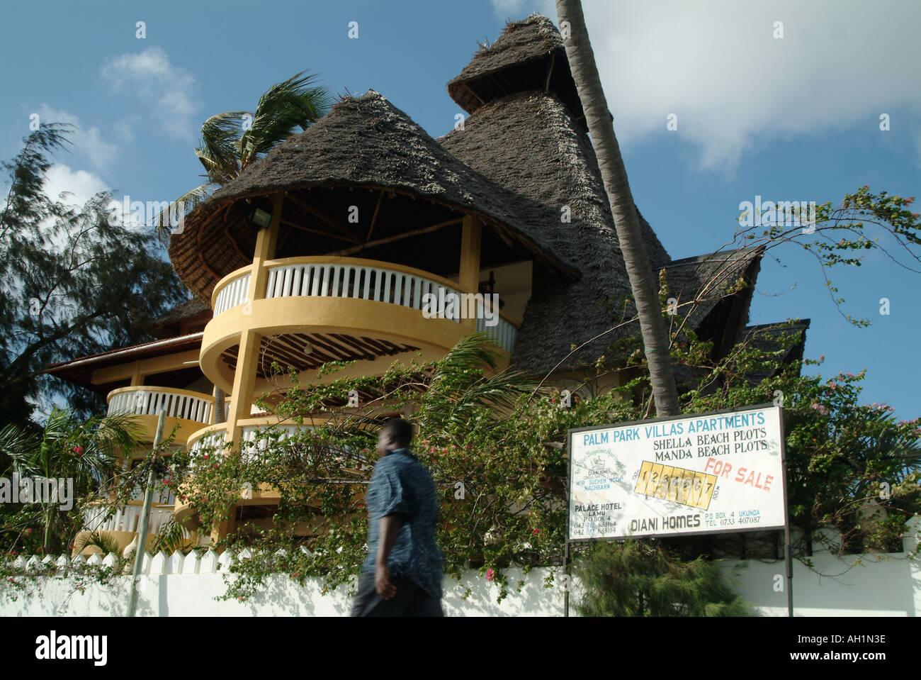 Beachfront property for sale on Lamu Island  Kenya, Africa