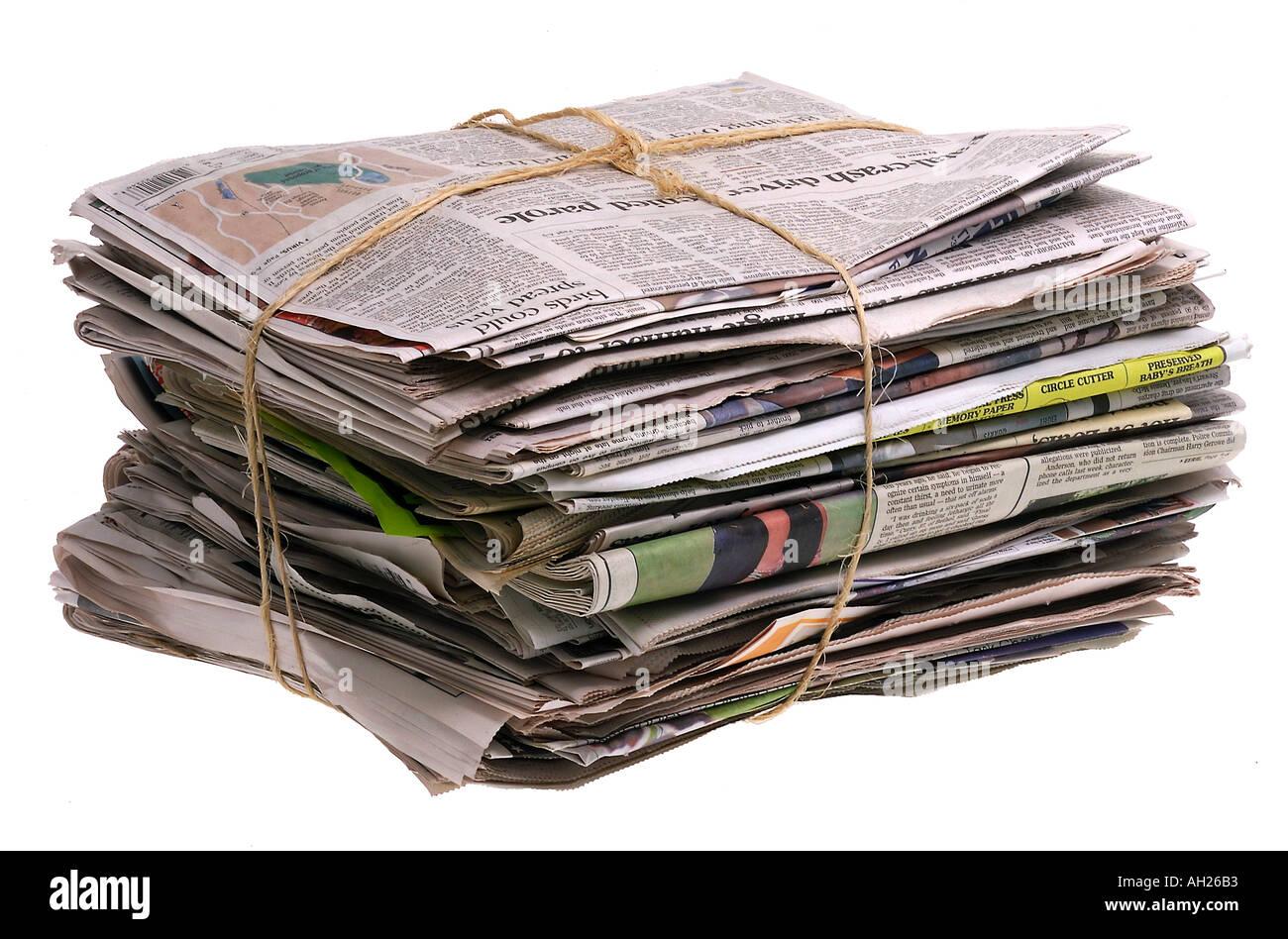 Bundle Of Newspapers