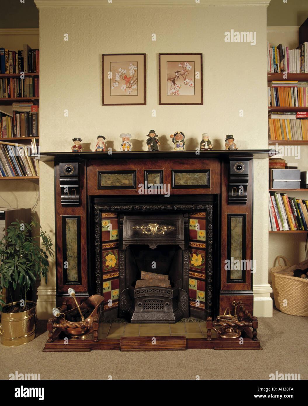 Victorian Fireplace Stock Photo 1126649 Alamy