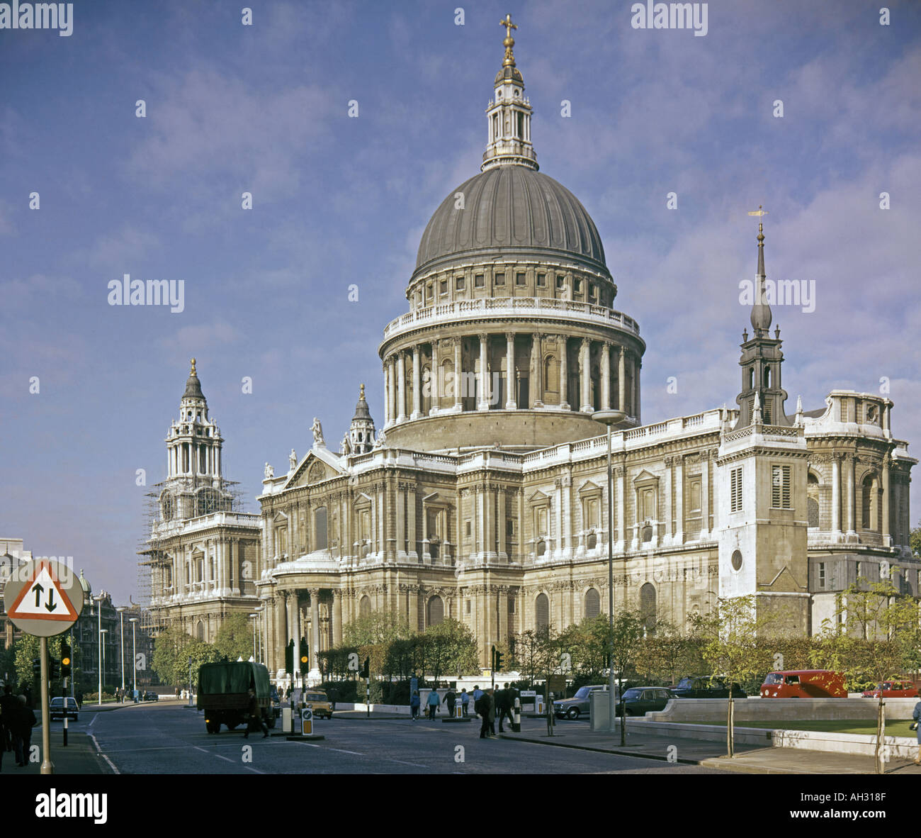 St Paul s Cathedral London England - Stock Image