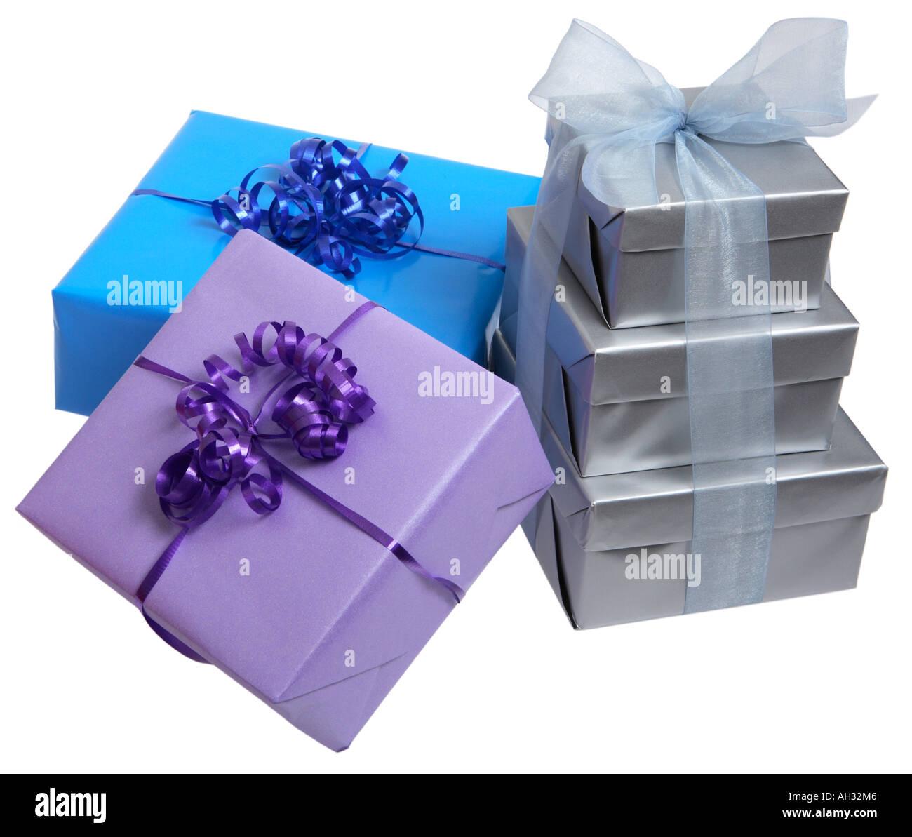 Birthday Presents - Stock Image