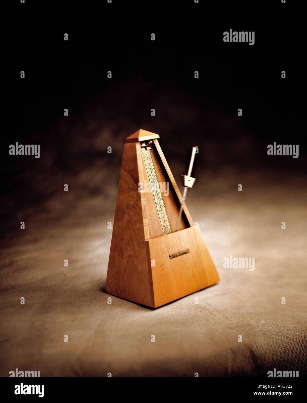 Metronome in-studio - Stock Image
