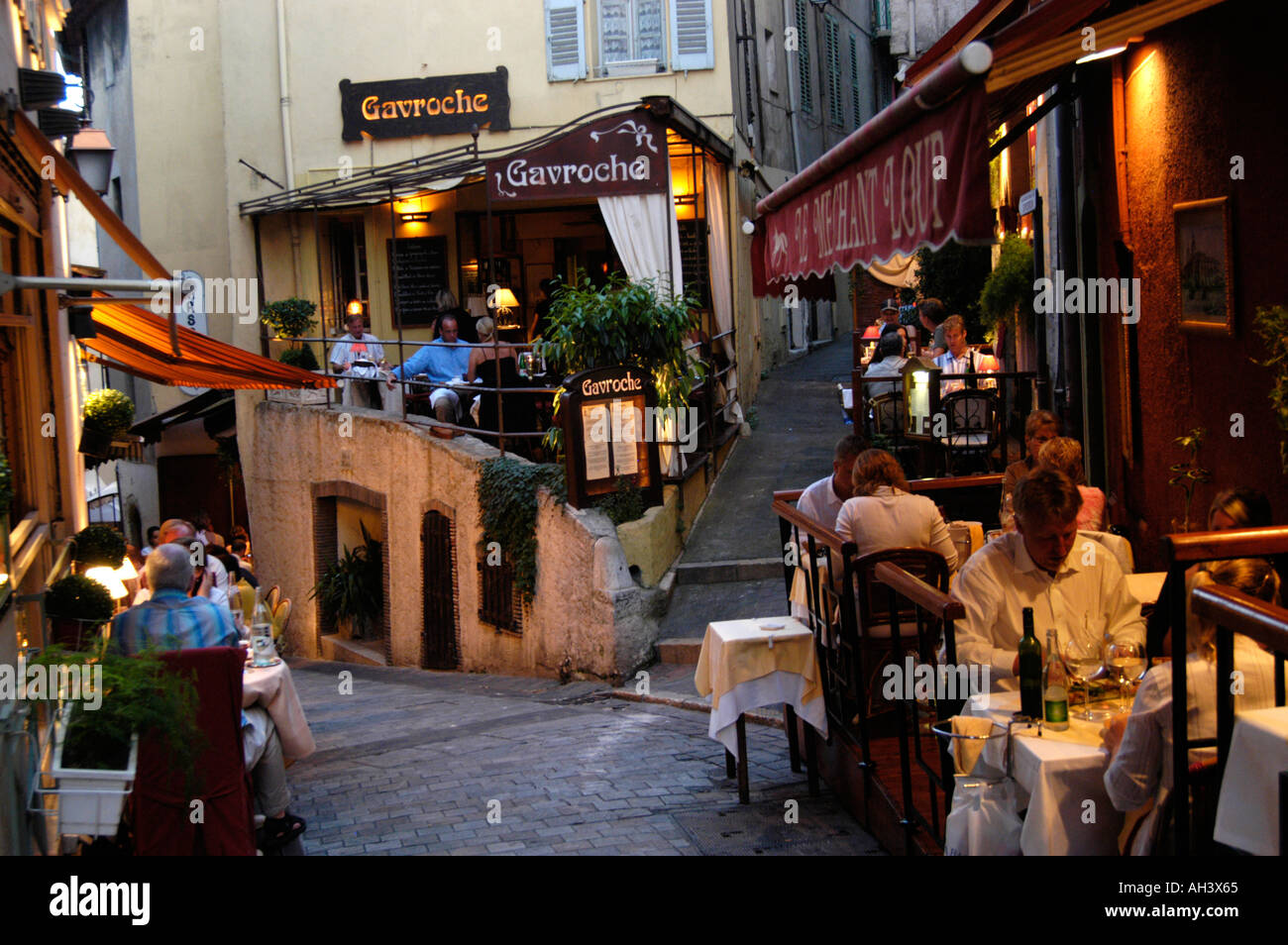 Restaurants Old Town Cannes France
