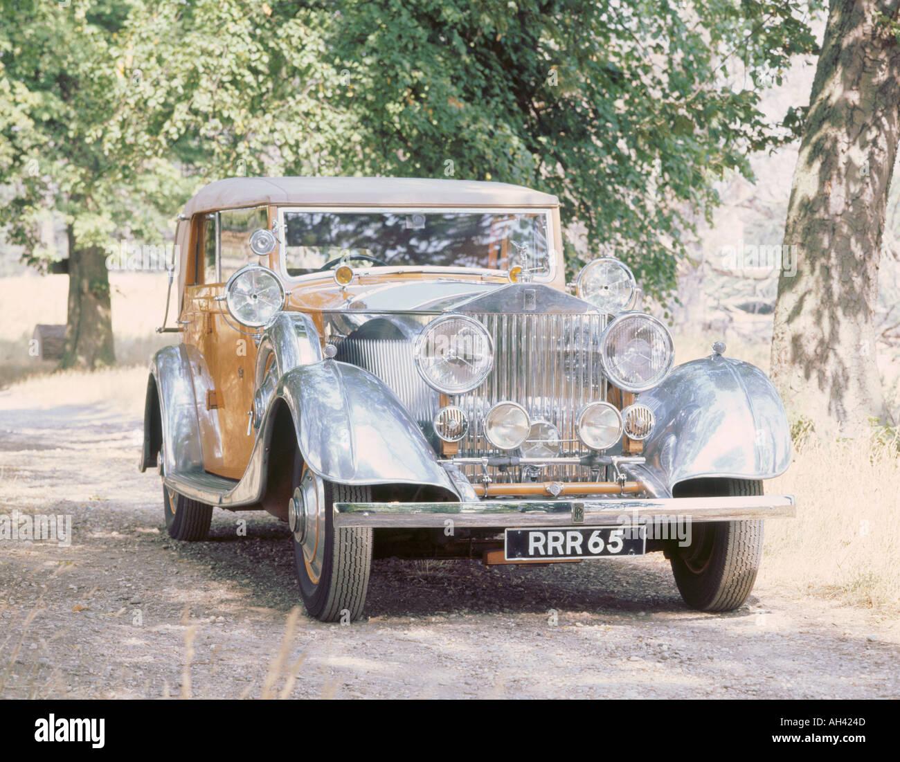 1934 Rolls Royce Phantom 2 Stock Photo: 1131084