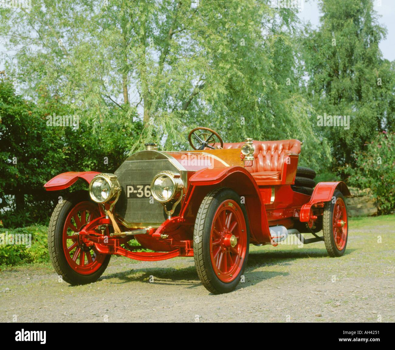 1907 Mercedes 28 60 Simplex - Stock Image