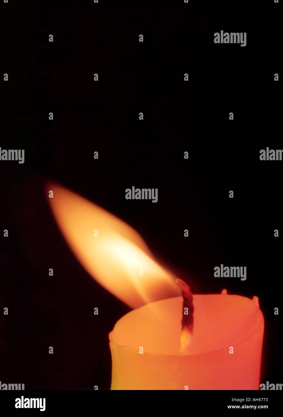 Candle In The Wind Stock Photo 1132402 Alamy