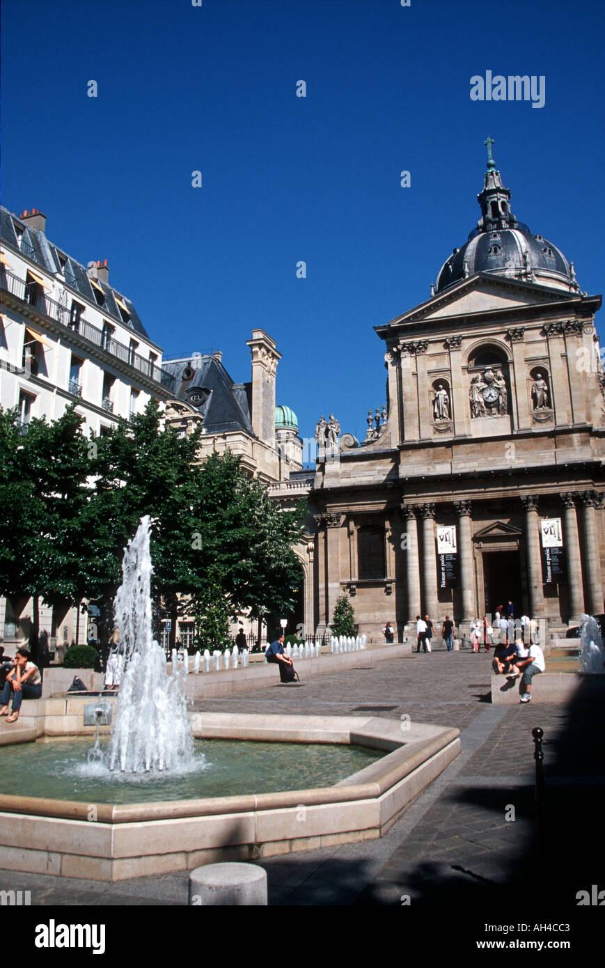 Sorbonne Paris - Stock Image