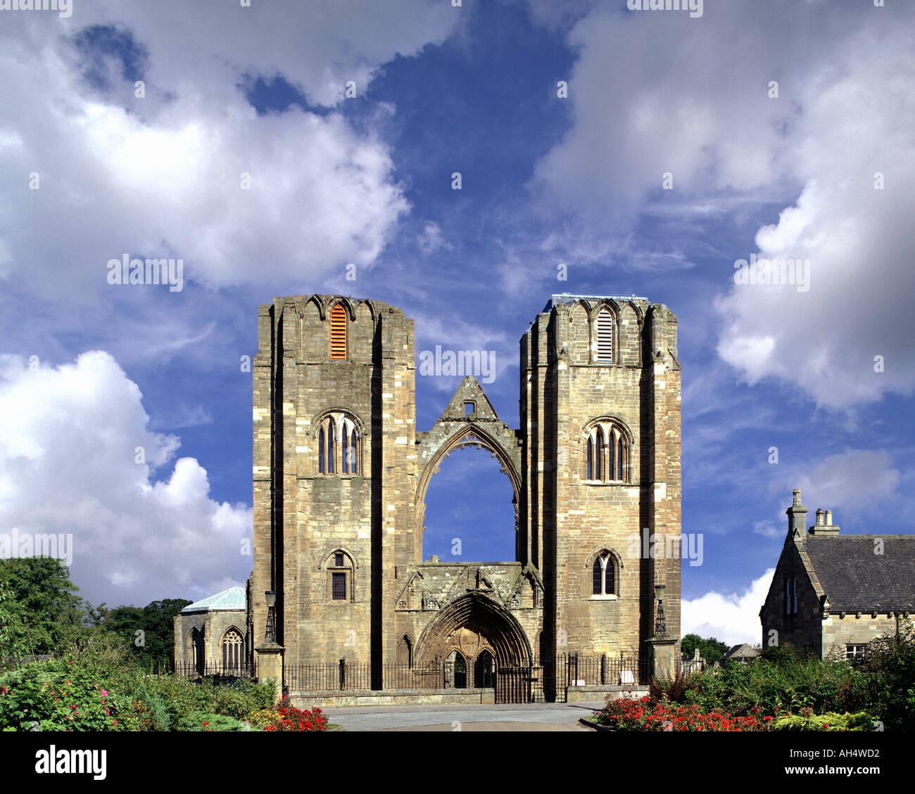 GB - SCOTLAND: Cathedral at Elgin - Stock Image