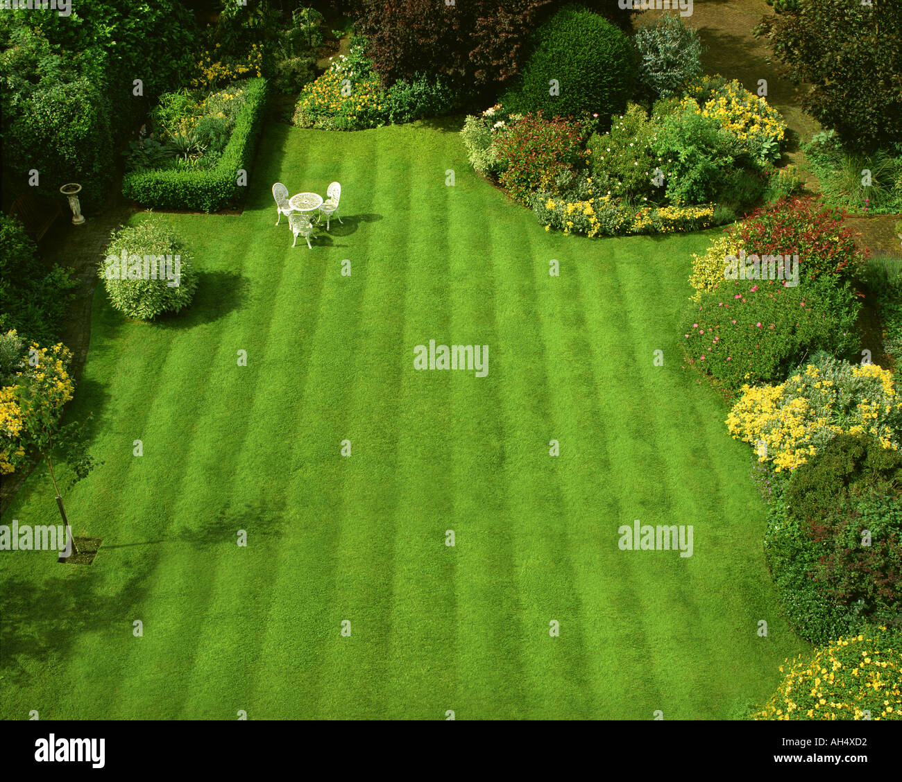 GB - GLOUCESTERSHIRE: Garden Scene at Parkgate in Cheltenham Stock Photo