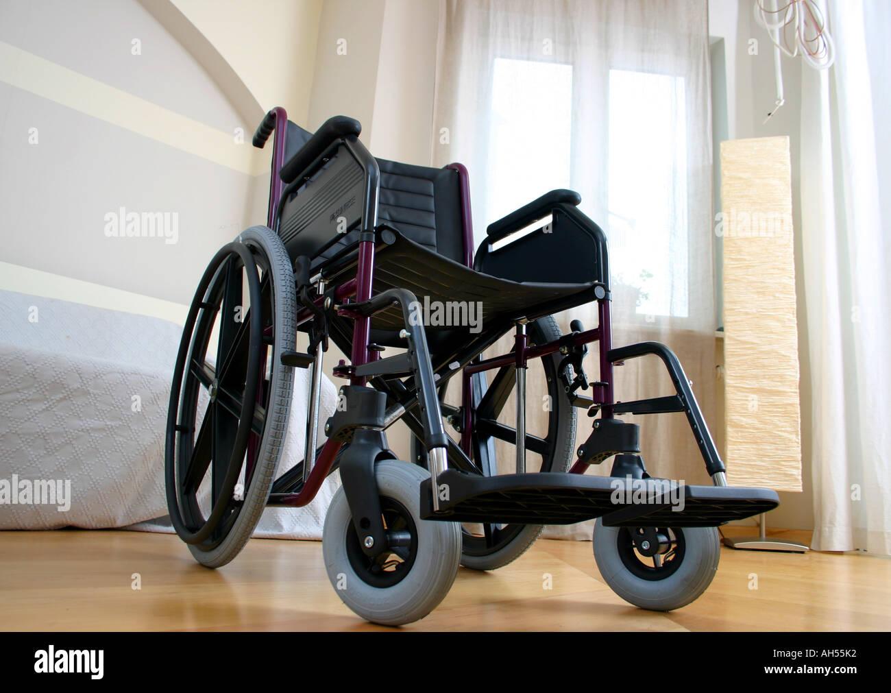 indoor flat room livingroom wheelchair invalid chair invalid ...
