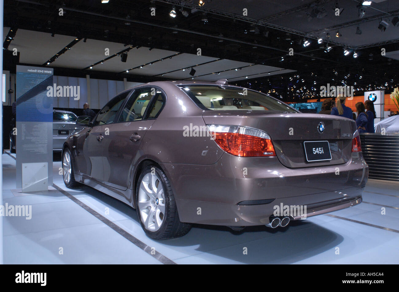 BMW Convertible 545i 2004 bmw 2004 BMW 545i at the North American International Auto Show 2004 ...