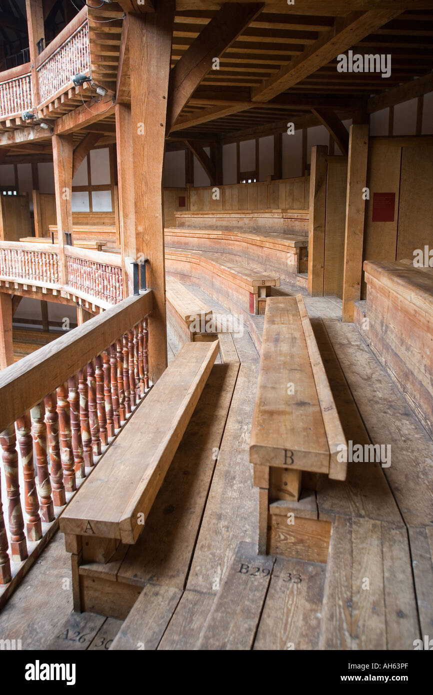 Fabulous Bench Seating At The Globe Theatre In London Stock Photo Gmtry Best Dining Table And Chair Ideas Images Gmtryco