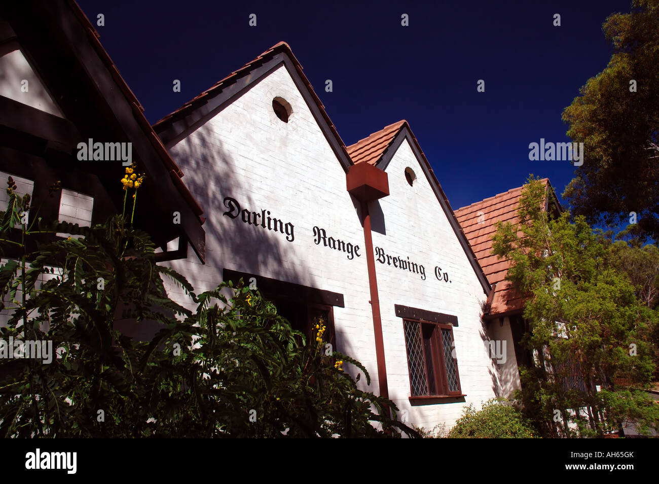 Darling Range Brewing Company part of the Elizabethan Village Armadale Perth Western Australia No PR - Stock Image