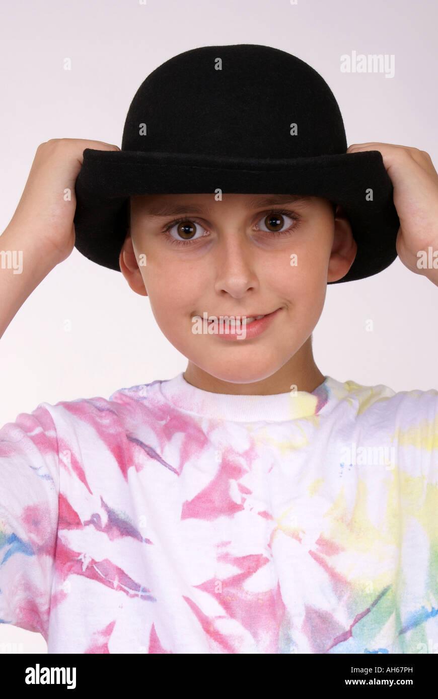 4a6a076e Put on Hat Stock Photo: 14371768 - Alamy