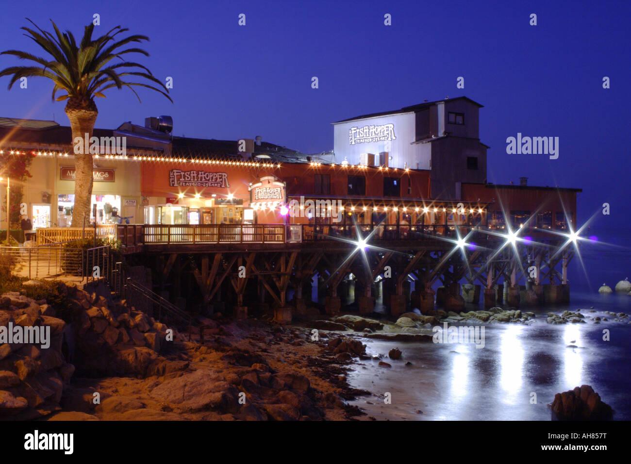 New Monterey pier Stock Photo