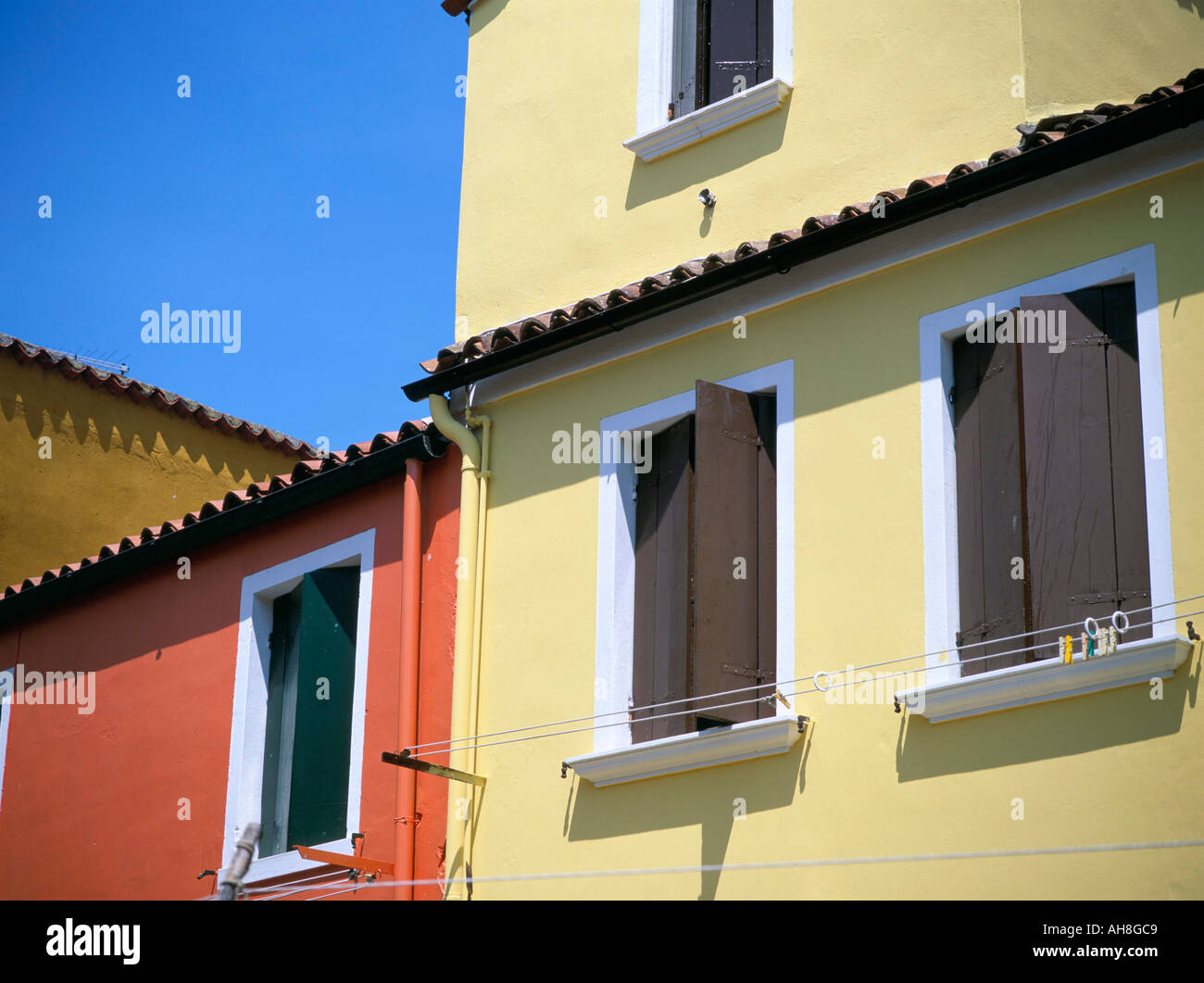 Terracotta Painted Walls Stock Photos & Terracotta Painted Walls ...