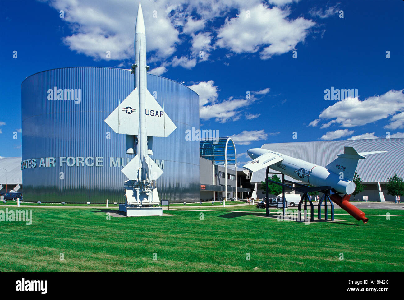 United States Airforce Museum located at Wright Patterson Airforce Base Dayton Ohio - Stock Image