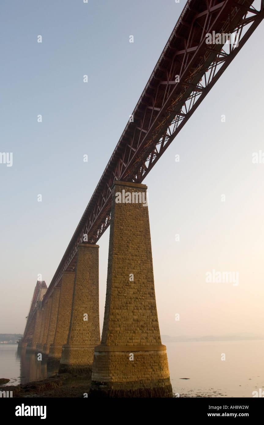 Forth Rail Bridge, Scotland Stock Photo