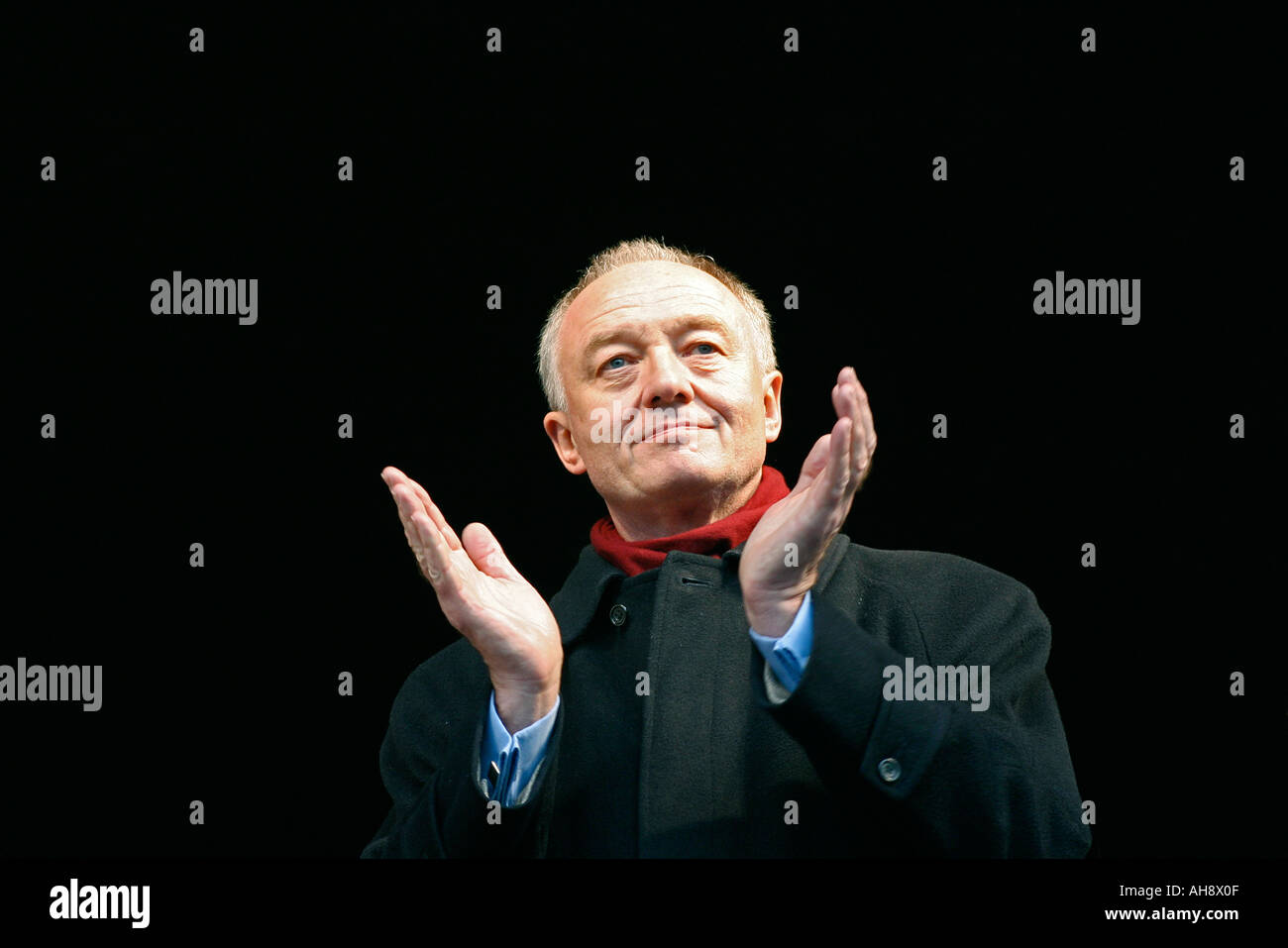 Ken Livingstone, Mayor of London, at London's first Russian Winter Festival in celebration of the Russian Old New Year. - Stock Image